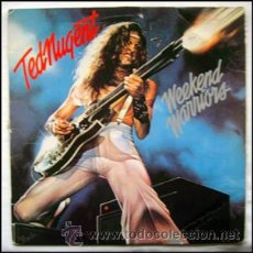 Discos de vinilo: TED NUGENT .. LP . WARRIORS .. EPIC 1978. Lote 29058309