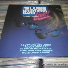 Discos de vinilo: THE BLUES BROTHERS BAND - LIVE IN MONTREUX. Lote 29064228