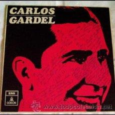 Discos de vinilo: CARLOS GARDEL . LP . ODEON 1966. Lote 29072936