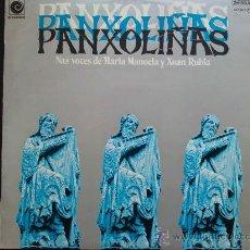 Discos de vinilo: PANXOLINAS - NAS VOCES DE MARIA MANOELA Y XOAN RUBIA - LP. Lote 29075473