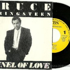 "Discos de vinilo: BRUCE SPRINGSTEEN. TUNNEL OF LOVE (7"" SPAIN PROMO 1987). Lote 29084215"