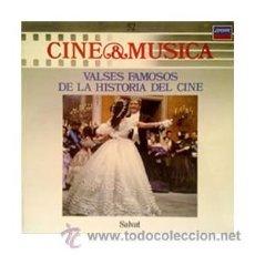 Disques de vinyle: MUSICA Y CINE Nº 52 - VALSES FAMOSOS DEL CINE - SALVAT - NUEVO SIN USAR-ROTA-JARRE-STRAUSS-LAI-ROSZA. Lote 29092595