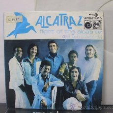 Discos de vinilo: ALCATRAZ - FLIGHT OF THE ALCATRAZ - PROMO - NOVOLA 1976. Lote 110443308