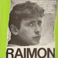 Discos de vinilo: RAIMON - DIC ANTOLOGIC DE LES SEVES CANCONS - LP 1984. Lote 29102427