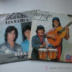 Discos de vinilo: LOS GOLFOS - QUE PASA CONTIGO TIO-PEPA - LOTE 2 SINGLES RCA 1976-77 - EXCELENTE ESTADO. Lote 29096498