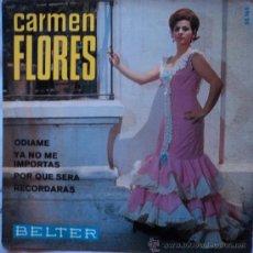 Discos de vinilo: CARMEN FLORES, ODIAME, EDICION DE 1967 DE ESPAÑA. Lote 29107766