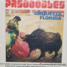 Dischi in vinile: PASODOBLES - ORQUESTA FLORIDA - MI JACA/GATO MONTES/ESPAÑA CAÑI/EL BESO/GALLITO/ISLAS CANARIAS/NUEVO. Lote 29111386