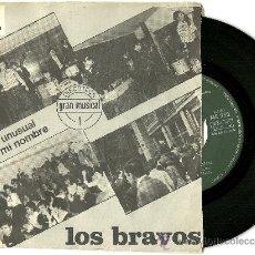 Discos de vinilo: LOS BRAVOS. IT IS NOT UNUSUAL (VINILO SINGLE 1966). Lote 29114008