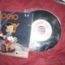 Discos de vinilo: PINOCHO EP 7 HL 084-02 CUENTODISCO BRUGUERA HISPAVOX 1967 WALT DISNEY. Lote 29117345