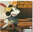 Discos de vinilo: EL SASTRECILLO VALIENTO EP CUENTODISCO BRUGUERA HISPAVOX HL 084-17 WALT DISNEY. Lote 32003959