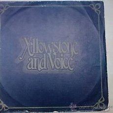 Discos de vinilo: LP YELLOWSTONE AND VOICE 1973 SUPER DISCO TIPO BADFINGER MUY RARO DISCO VG-/VG+. Lote 29120562