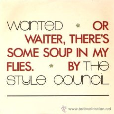 Discos de vinilo: THE STYLE COUNCIL - WANTED / THE COST / THE COST OF LOVING (EP 7') - NUEVO. Lote 29127487