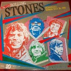 Discos de vinilo: LP - ROLLING STONES - THE LIVE - HONOLULU HAWAI JULY 28,1966. Lote 29129515