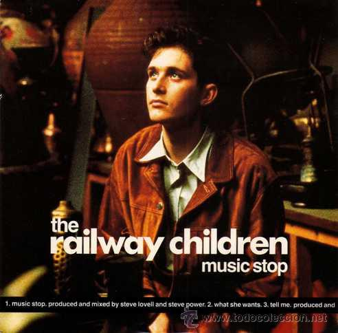 THE RAILWAY CHILDREN - MUSIC STOP / WHAT SHE WANTS / TELL ME (EP 7') - NUEVO (Música - Discos de Vinilo - EPs - Pop - Rock - New Wave Extranjero de los 80)