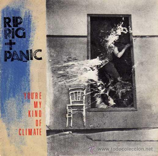 RIP RIG + PANIC - YOU'RE MY KIND OF CLIMATE / SHE GETS SO HUNGRY AT NIGHT / SHE EATS (EP 7') - NUEVO (Música - Discos de Vinilo - EPs - Pop - Rock - New Wave Extranjero de los 80)
