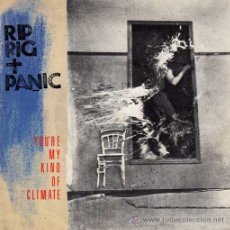 Discos de vinilo: RIP RIG + PANIC - YOU'RE MY KIND OF CLIMATE / SHE GETS SO HUNGRY AT NIGHT / SHE EATS (EP 7') - NUEVO. Lote 29140685