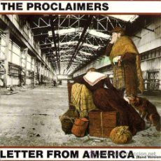 Discos de vinilo: THE PROCLAIMERS - LETTER FROM AMERICA / LETTER FROM AMERICA (ACUSTIC VERS.) / I'M... (EP 7') - NUEVO. Lote 29142690
