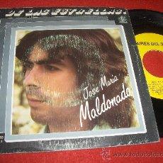 """Discos de vinilo: JOSE Mª MALDONADO LUNA LLENA/HIJOS DE LAS ESTRELLAS 7"""" SINGLE 1982 AIRES DEL SUR . Lote 29147168"""