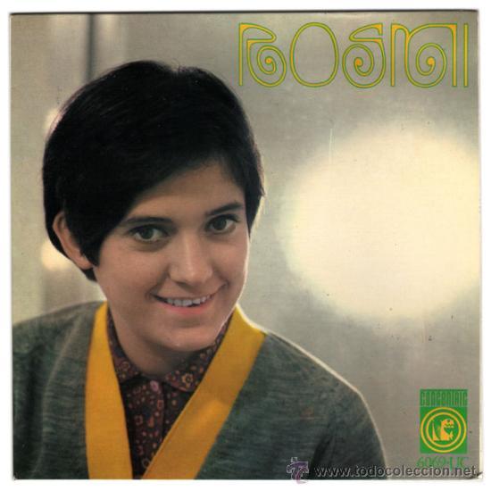 ROSMI – M'ESTIMES DE DEBO – EP SPAIN 1965 – CONCENTRIC 6069 (Música - Discos de Vinilo - EPs - Solistas Españoles de los 50 y 60)