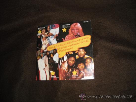 AMII STEWART..ERUPTION..BONEY M..AMANDA LEAL EP ESPECIAL (Música - Discos de Vinilo - EPs - Funk, Soul y Black Music)