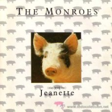 Discos de vinilo: THE MONROES - (STAY WITH ME) JEANETTE / HOW STRONG IS YOUR LOVE (SG 7') - NUEVO. Lote 29154990
