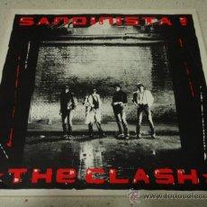 Discos de vinilo: THE CLASH ( SANDINISTA! ) TRIPLE LP33 ENGLAND - 1980 CBS 'CON TRIPTICO INTERIOR'. Lote 29156733