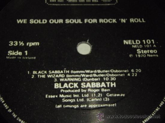 Discos de vinilo: BLACK SABBATH ( WE SOLD OUR SOUL FOR ROCK N ROLL ) DOBLE LP33 ENGLAND-1982 NEMS - Foto 4 - 29156814