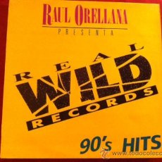 Discos de vinilo: REAL WILD RECORDS TECHNOTRONIC, LOLEATTA HOLLOWAY, TODD TERRY, DESKEE, JOCELYN BROWN. 1989 LP. Lote 29157720