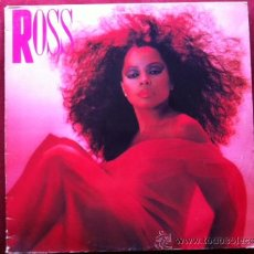 Discos de vinilo: DIANA ROSS - ROSS. LP.CAPITOL RECORDS ESPAÑA, 1983. Lote 29160942