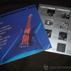 Discos de vinilo: (THIN LIZZY, KISS, BLACK SABBATH, NAZARETH, RUSH, LITA FORD, PICTURE, DIO,..LP .HARDROCK '83. Lote 29161155