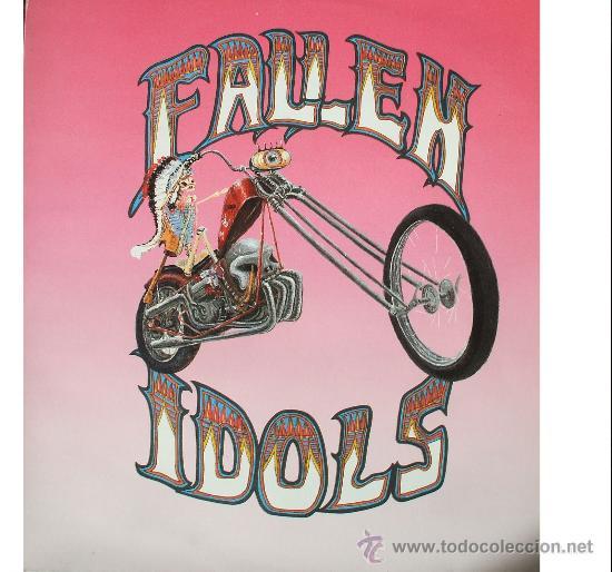 THE FALLEN IDOLS - THE RETURN OF ... - CON DOBLE ENCARTE - ROMILAR-D - APENAS 2 ESCUCHAS (Música - Discos - LP Vinilo - Grupos Españoles de los 90 a la actualidad)