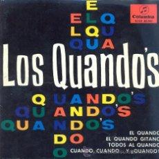 Discos de vinilo: LOS QUANDOS - EL QUANDO - EP RARO DE VINILO. Lote 29166406