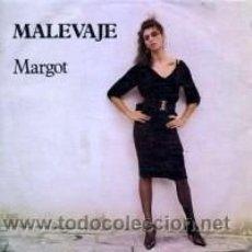 Discos de vinilo: MALEVAJE - MARGOT - TRES CIPRESES-DRO - NUEVO CON APENAS 2 ESCUCHAS - EDI CLAVO - 1986. Lote 29167025