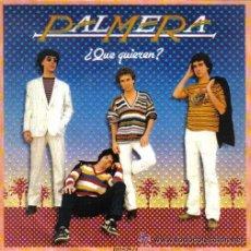 Discos de vinilo: PALMERA - ¿QUÉ QUIEREN? / EL CAFÉ - 1981. Lote 29168133