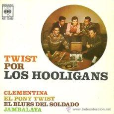 Discos de vinilo: LOS HOOLIGANS EP SELLO CBS AÑO 1962. Lote 29169883