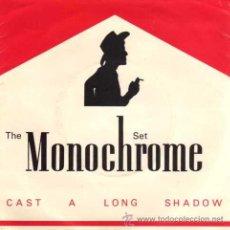 Discos de vinilo: THE MONOCHROME SET - CAST A LONG SHADOW / THE BRIDGE (SG 7'). Lote 29176737