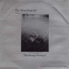 Discos de vinilo: THE MONOCHROME SET - THE STRANGE BOUTIQUE / SURFING S.W. 12' (SG 7'). Lote 29176913