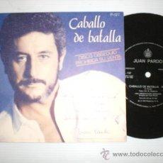 Discos de vinilo: JUAN PARDO.- CABALLO DE BATALLA.- SINGLE FLEXO 1983. PROMO NUEVO EN LIQUIDACION VER + INFORMACION. Lote 29177044
