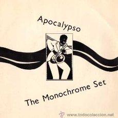 Discos de vinilo: THE MONOCHROME SET - APOCALYPSO / FIASCO BONGO (SG 7') - NUEVO. Lote 29177107