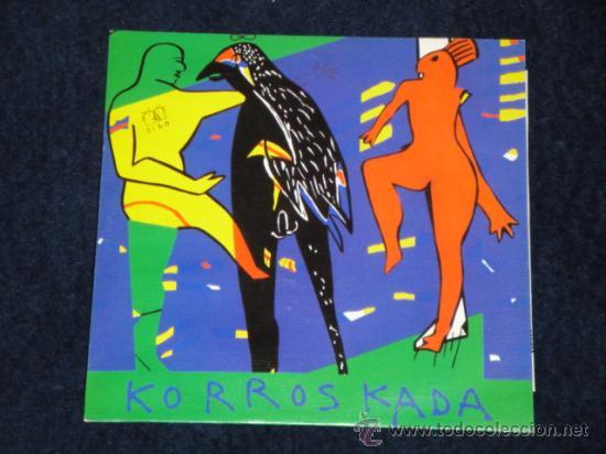 KORROSKADA SINGLE DE VINILO SIGO Y LA FÁBRICA 1991 (Música - Discos - Singles Vinilo - Punk - Hard Core)
