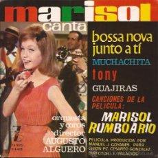 Discos de vinilo: EP-MARISOL-ZAFIRO 415-BOSSA NOVA JUNTO A TI-1963. Lote 29195944