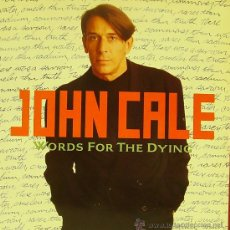 Discos de vinilo: JOHN CALE-WORDS FOR THE DYING LP 1989 (GERMANY) . Lote 29196550