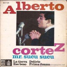 Discos de vinilo: EP-ALBERTO CORTEZ-HISPAVOX 17213-1962. Lote 29196697