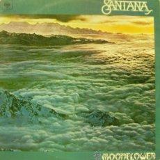 Dischi in vinile: SANTANA-MOONFLOWER LP 1977 DOBLE SPAIN. Lote 29196949