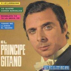 Discos de vinilo: EL PRÍNCIPE GITANO - EP, 1965. Lote 29201715