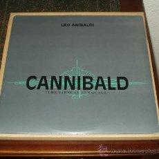 Discos de vinilo: LEO ANIBALDI DOBLE MAXI CANNIBALD THE VIRTUAL LANGUAGE ITALO /ELECTRONICA. Lote 29204413