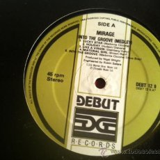 Discos de vinilo: MIRAGE - INTO THE GROOVE (MADONNA MEDLEY) .MAXI SINGLE, DEBUT RECORDS UK 1995. Lote 29205386