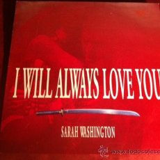 Discos de vinilo: SARAH WASHINGTON - I WILL ALWAYS LOVE YOU. MAXI SINGLE, MAX MUSIC 1993. Lote 29206005