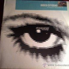 Discos de vinilo: DISCO CITIZENS - FOOTPRINT. MAXI SINGLE, 1997 . Lote 29206821