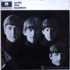 Discos de vinilo: THE BEATLES, WITH, 1ª EDICION DE HOLANDA. Lote 29210331